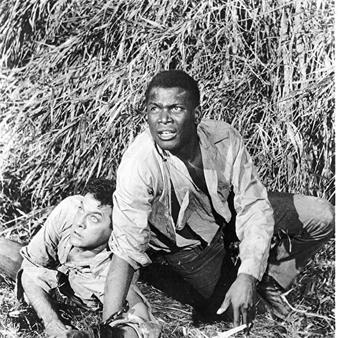 Tony Curtis and Sidney Poitier in The Defiant Ones (1958)