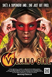 Volcano Girl Poster