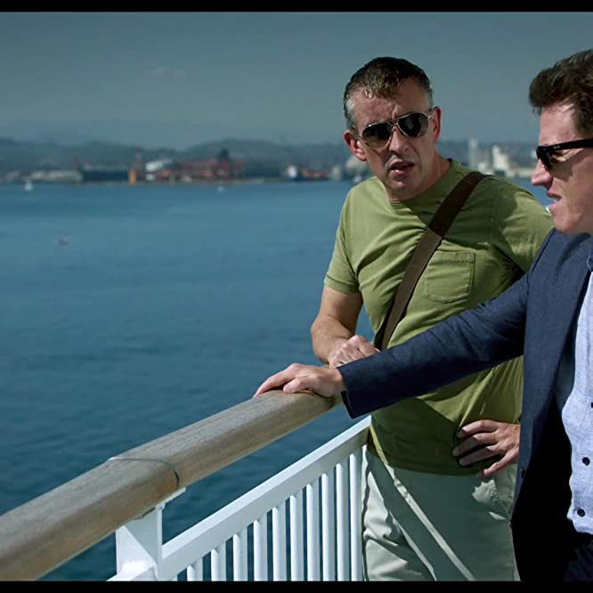 Rob Brydon and Steve Coogan in The Trip to Spain (2017)