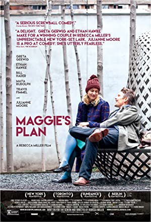 Maggie's Plan poster