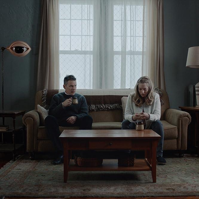 Ethan Hawke and Amanda Seyfried in First Reformed (2017)