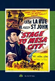 Stage to Mesa City Poster