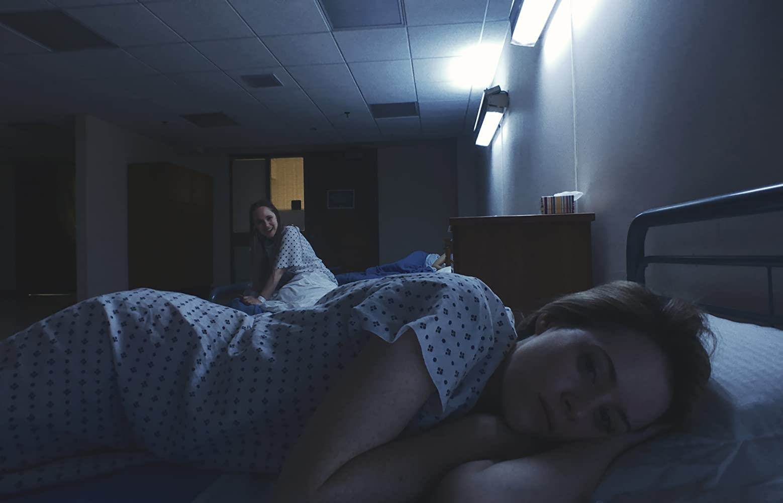 Juno Temple and Claire Foy in Unsane (2018)