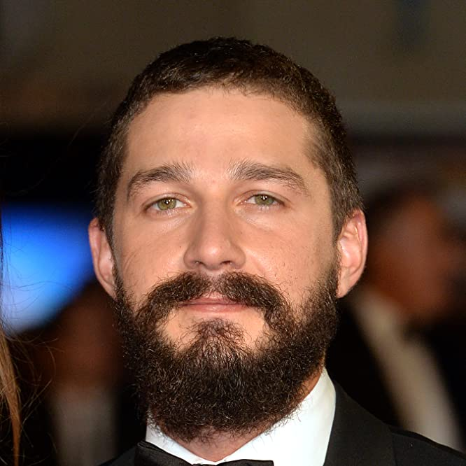 Shia LaBeouf at an event for Fury (2014)