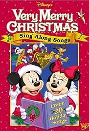 disney sing along songs very merry christmas songs video 1988 imdb. Black Bedroom Furniture Sets. Home Design Ideas