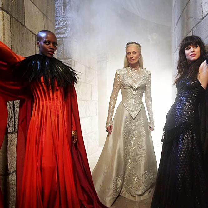 Joely Richardson, Florence Kasumba, and Ana Ularu in Emerald City (2016)