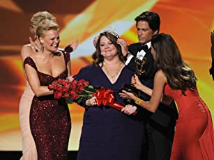 Rob Lowe, Martha Plimpton, Sofía Vergara, and Melissa McCarthy at an event for The 63rd Primetime Emmy Awards (2011)