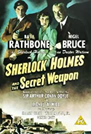 Sherlock Holmes and the Secret Weapon(1942) Poster - Movie Forum, Cast, Reviews