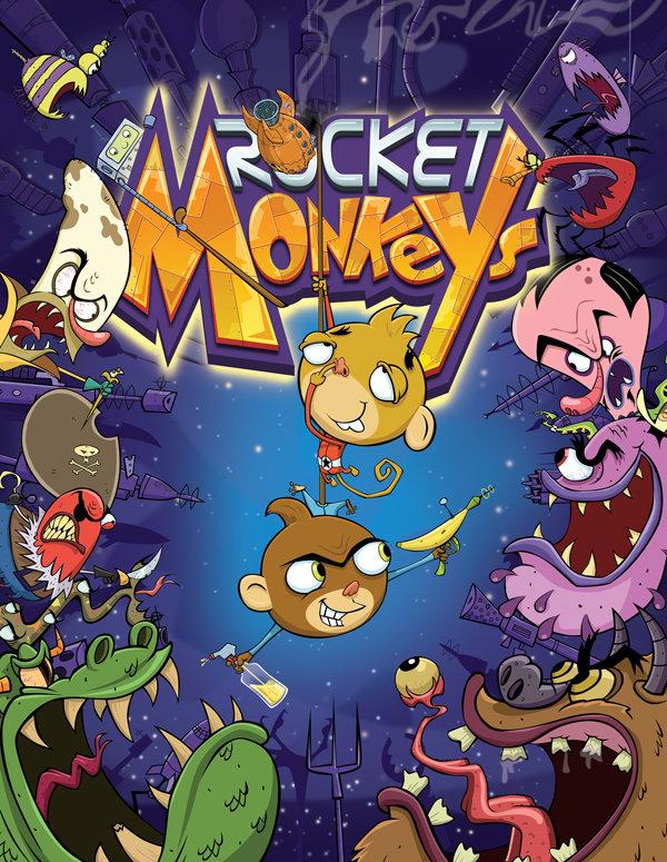Rocket Monkeys (TV Series 2012– ) - IMDb