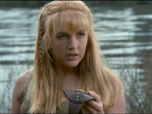 Renée O'Connor in Xena: Warrior Princess (1995)