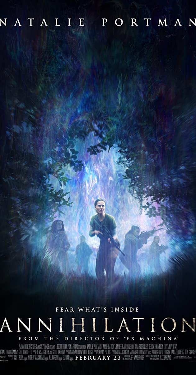Download Film Annihilation (2018) Bluray Subtitle Indonesia MP4 MKV 360p 480p 720p