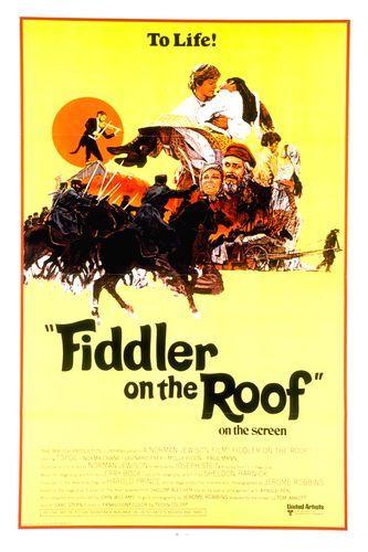 Fiddler On The Roof 1971 Imdb