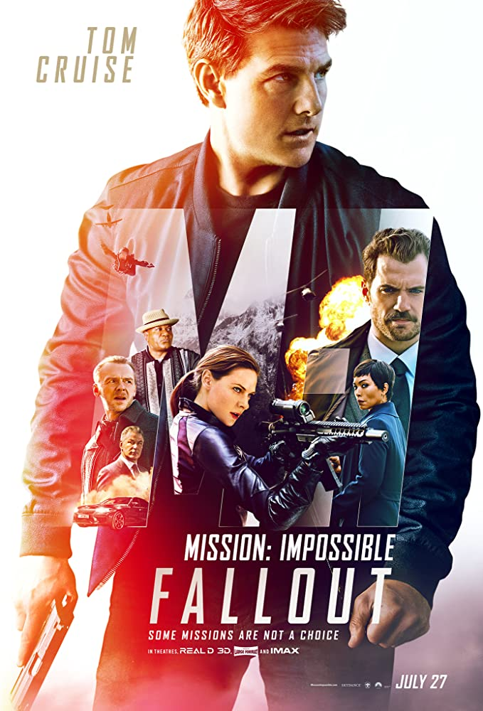 Mission: Impossible 6 Fallout Movie Poster