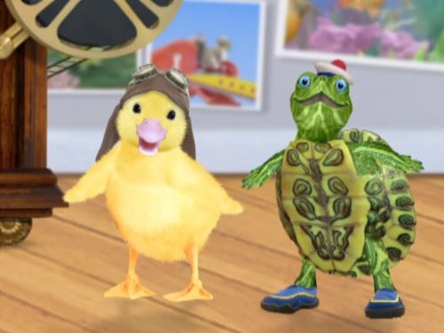 Quot Wonder Pets Quot A Job Well Done Save The Rhino Tv