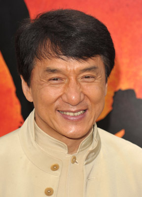 Jackie Chan at event o...