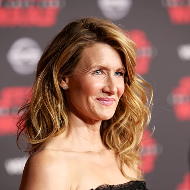 Laura Dern at an event for Star Wars: The Last Jedi (2017)