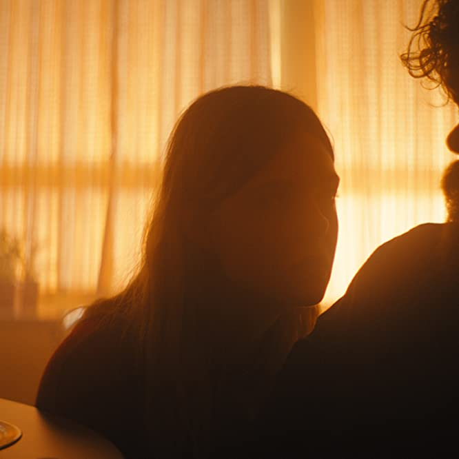 Peter Dinklage and Elle Fanning in I Think We're Alone Now (2018)