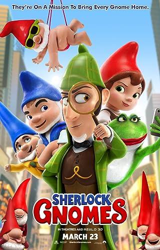 Poster Film Sherlock Gnomes