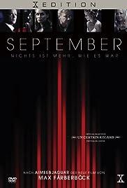 September(2003) Poster - Movie Forum, Cast, Reviews