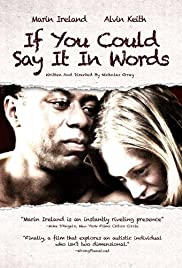 If You Could Say It in Words Poster