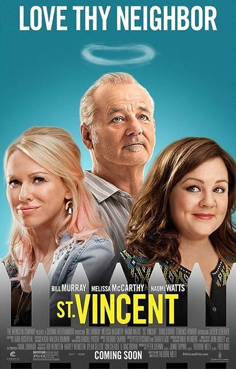 Bill Murray, Melissa McCarthy, and Naomi Watts in St. Vincent 2014 UNCUT Dual Audio Hindi 720p BluRay Download