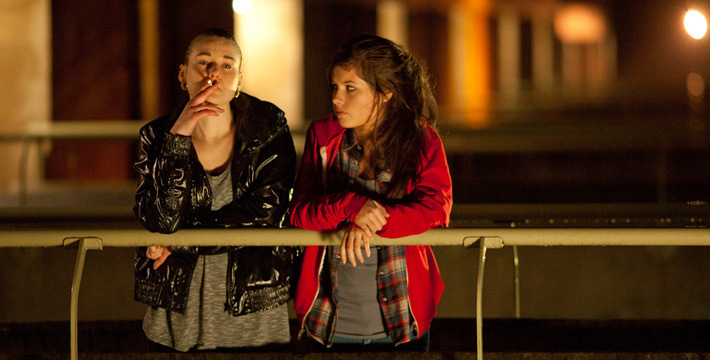 Emma Hartley-Miller and Aimee Kelly in Sket (2011)