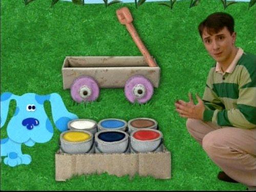 Quot Blue S Clues Quot Adventures In Art Tv Episode 1996 Plot