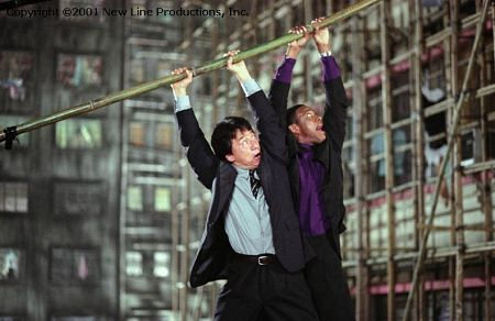 Jackie Chan and Chris Tucker in Rush Hour 2 (2001)