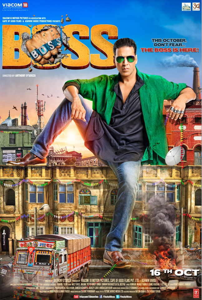 Boss (2013) Bollywood Movie