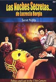 Le notti segrete di Lucrezia Borgia Poster