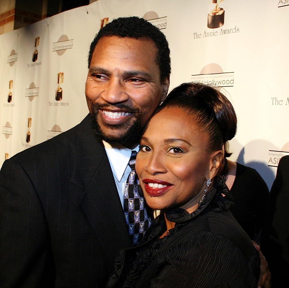 Jenifer Lewis with handsome, Husband Arnold Byrd