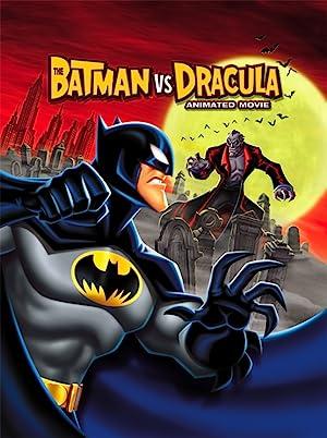 The Batman vs. Dracula poster