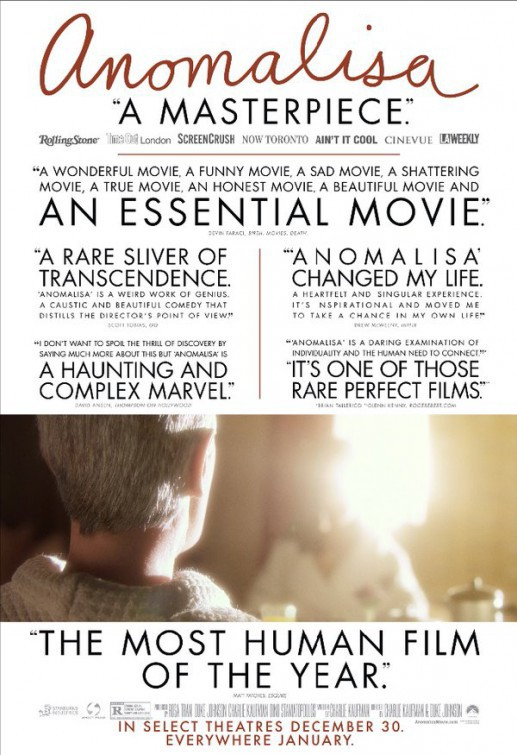Paramount Pictures' Anomalisa - Trailer 1
