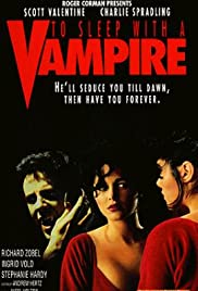 To Sleep with a Vampire Poster