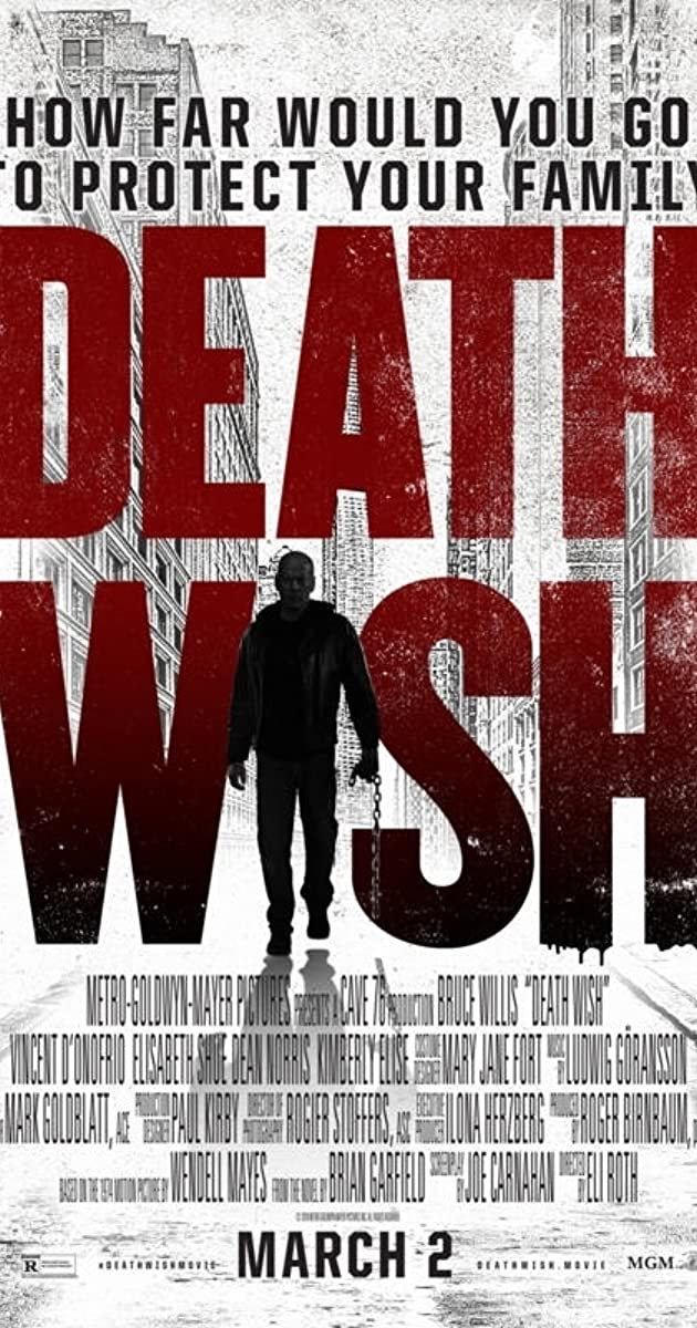 Mirties troškimas / Death Wish  (2018) online