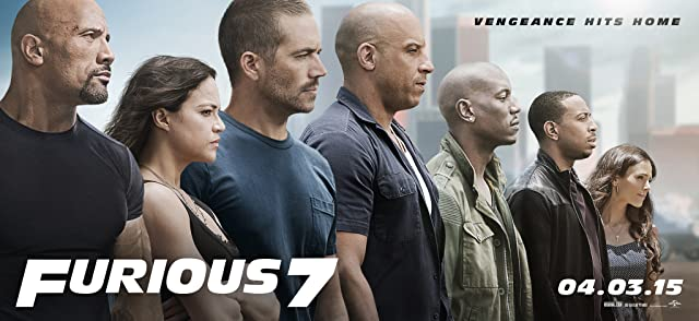 Poster Of Furious 7 (2015)   Full Movie Hindi Dubbed Free Download Watch Online At movies365.in