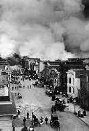 san francisco earthquake fire april 18 1906 poster