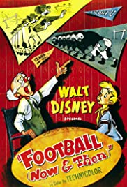 Football Now and Then Poster
