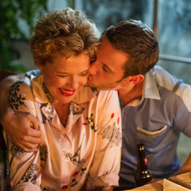 Annette Bening and Jamie Bell in Film Stars Don't Die in Liverpool (2017)