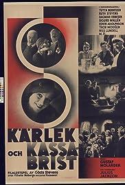 Kärlek och kassabrist Poster