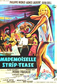 Mademoiselle Strip-tease Poster