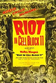 Riot in Cell Block 11 Poster