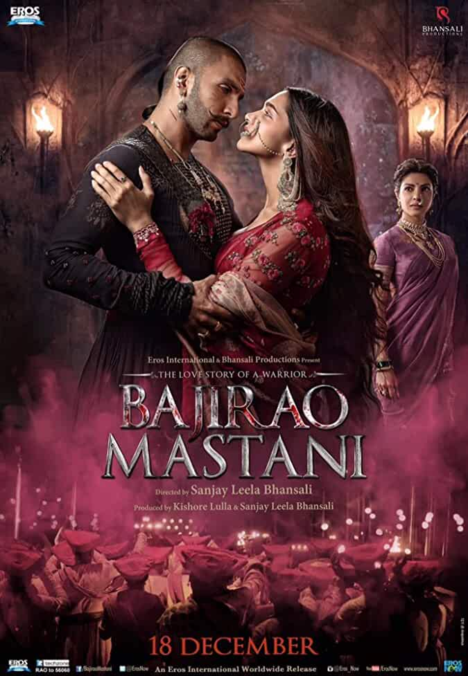 Bajirao Mastani (2015) Movie Download 300mb 480p 700mb 720p