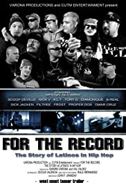 For the Record: The Story of Latinos in Hip Hop Poster