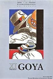 XI premios Goya Poster