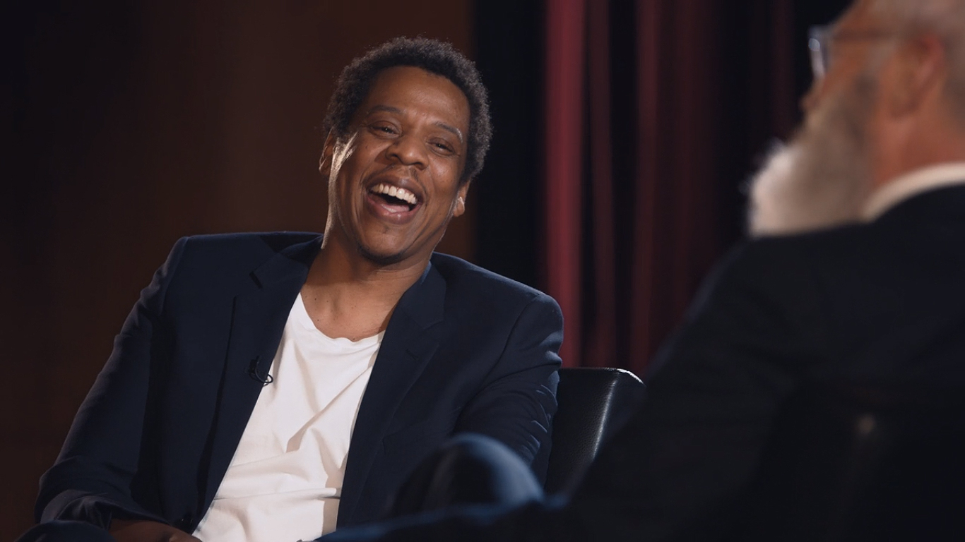 Jay Z in My Next Guest Needs No Introduction with David Letterman (2018)