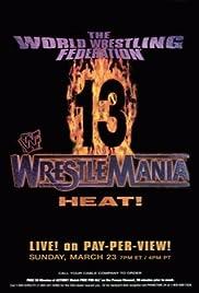 WrestleMania 13 Poster