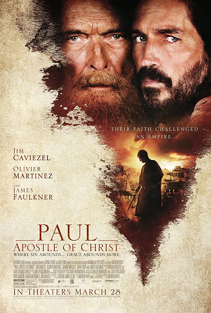 James Faulkner in Paul, Apostle of Christ (2018)