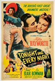 Tonight and Every Night Poster