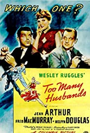 Too Many Husbands(1940) Poster - Movie Forum, Cast, Reviews